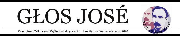 Głos Jose gazetka nagłówek