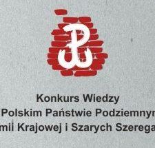 Logo konkursu Wiedzy Panswteie podziemnym