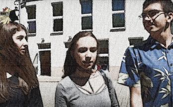 Rekrutacja- sylwetki trzech uczniów